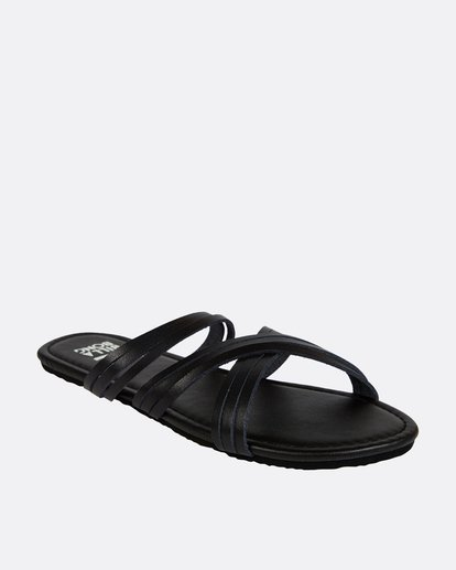 1 Sandy Toes Slide Sandal Black JFOTPBSA Billabong