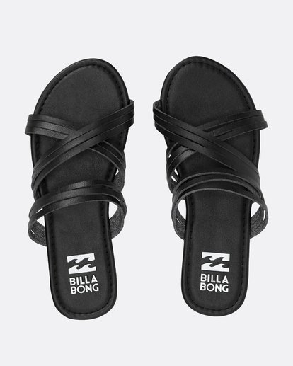 0 Sandy Toes Slide Sandal Black JFOTPBSA Billabong