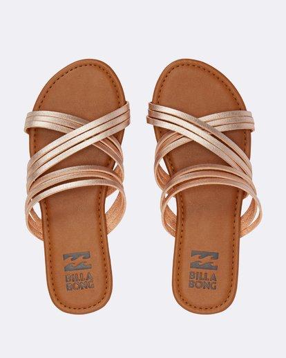 1 Sandy Toes Slide Sandal Pink JFOTPBSA Billabong