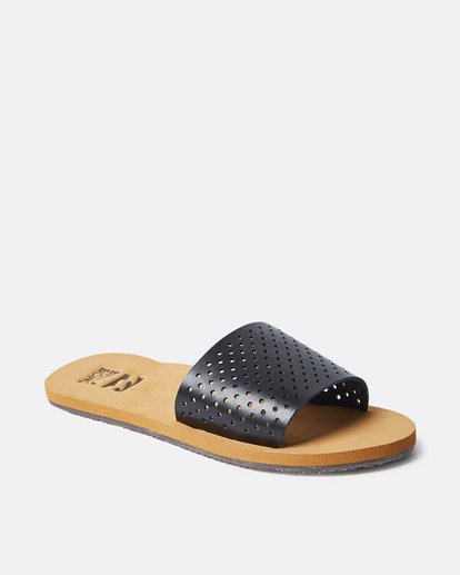 2 One Way Slide Sandal Black JFOTQBON Billabong