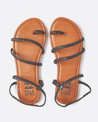 1 Summer Breeze Strappy Sandal Black JFOTQBSU Billabong