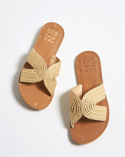 0 Sunset Point Slide Beige JFOTTBSP Billabong