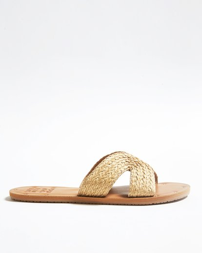 3 Sunset Point Slide Beige JFOTTBSP Billabong