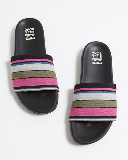 0 Surf Retreat Slide Sandals Pink JFOTTBSR Billabong