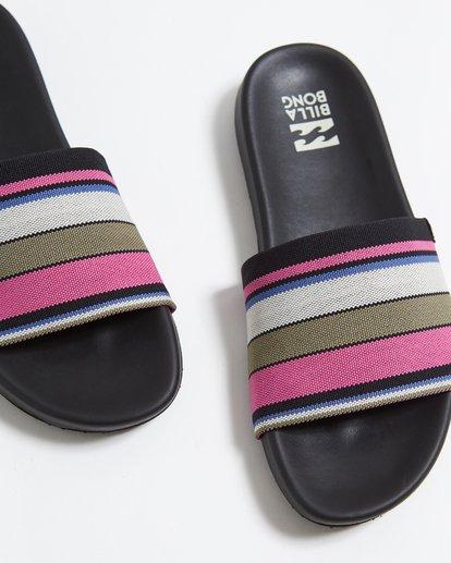 2 Surf Retreat Slide Sandals Pink JFOTTBSR Billabong