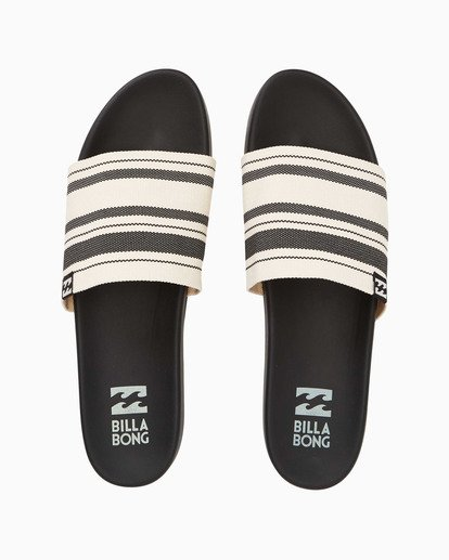1 Surf Retreat Slide Sandals Black JFOTTBSR Billabong
