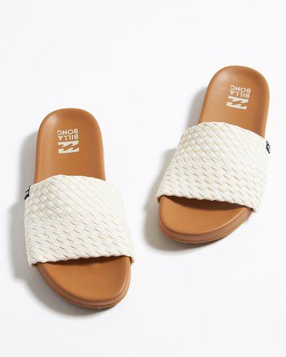 0 Surf Retreat Slide Sandals Beige JFOTTBSR Billabong