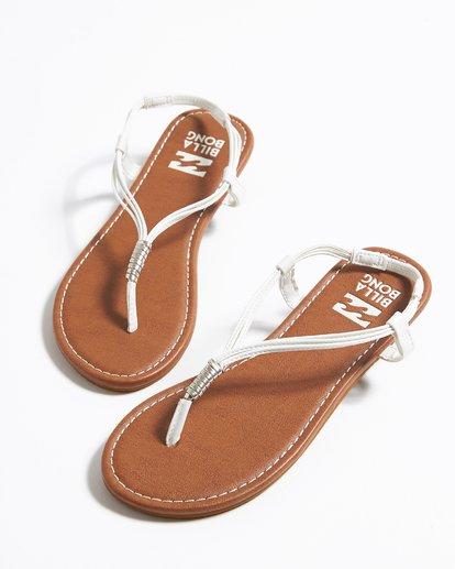 0 Strand Walk Sling Back Sandals White JFOTTBST Billabong