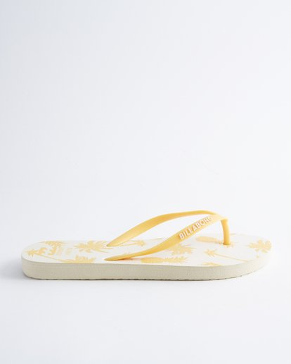 3 Hawaii Love Sandals White JFOTUBHL Billabong