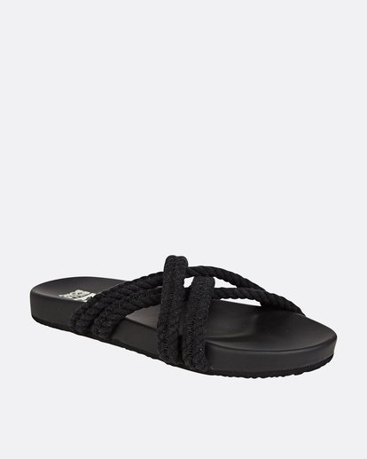 1 Rope Tide Sandal Black JFOTUBRO Billabong