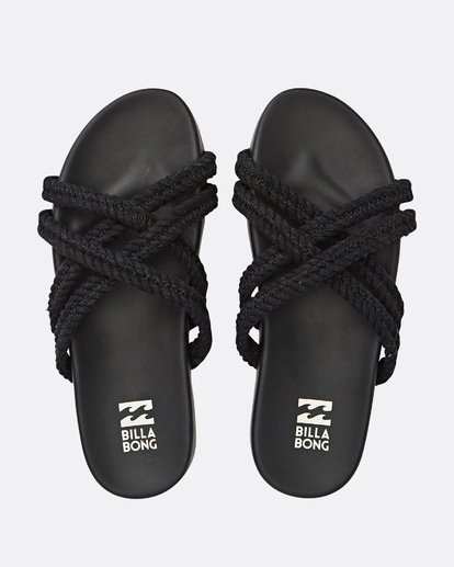 0 Rope Tide Sandal Black JFOTUBRO Billabong