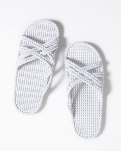 0 Slippin Slide Sandal White JFOTUBSL Billabong