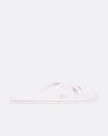 1 Slippin Slide Sandal White JFOTUBSL Billabong