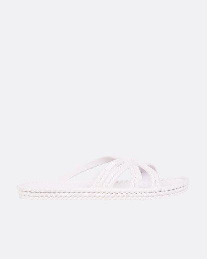 1 Slippin Slide Sandal White JFOTUBSL Billabong