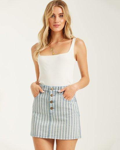 0 Cute As Indigo Skirt Multicolor JK012BCU Billabong