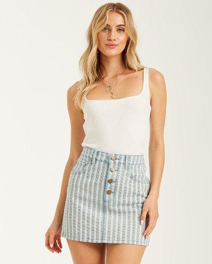1 Cute As Indigo Skirt Multicolor JK012BCU Billabong