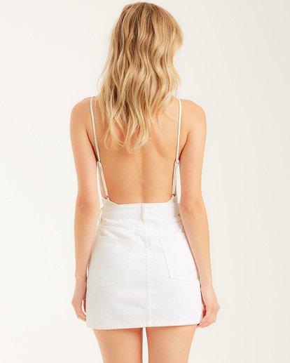 2 Cute As A Button Skirt White JK022BCU Billabong
