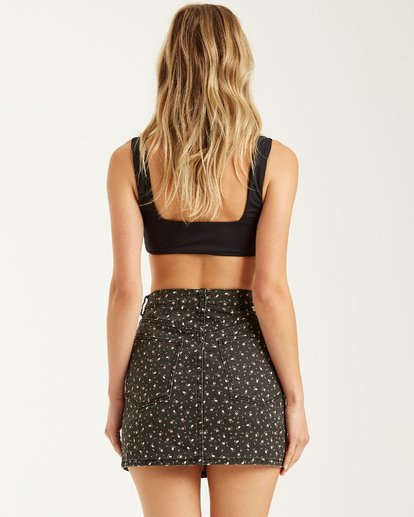 2 Cute As A Button Skirt Black JK022BCU Billabong