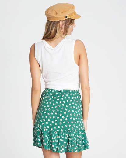3 For The Ride Wrap Skirt Green JK03QBFO Billabong