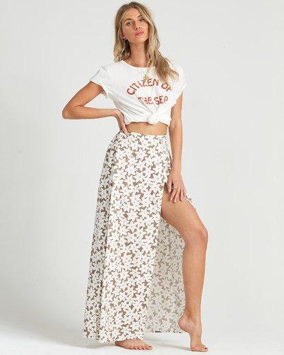 5 High Heights Skirt Brown JK051BHI Billabong
