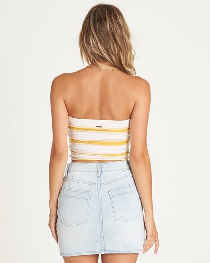 3 Good Life Denim Skirt Yellow JK05UBGO Billabong