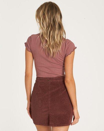 3 Magic Touch Skirt Purple JK05WBMA Billabong