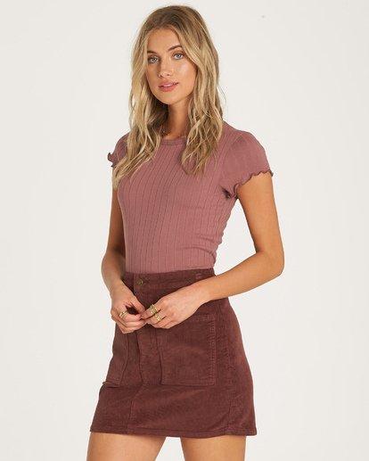 2 Magic Touch Skirt Purple JK05WBMA Billabong