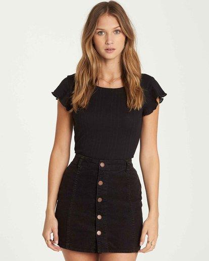 1 Push My Buttons Cord Mini Skirt  JK10QBPU Billabong
