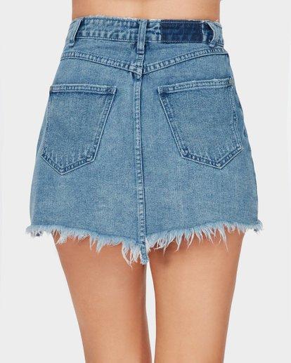 6 The Wrap Denim Skirt  JK10SBWR Billabong