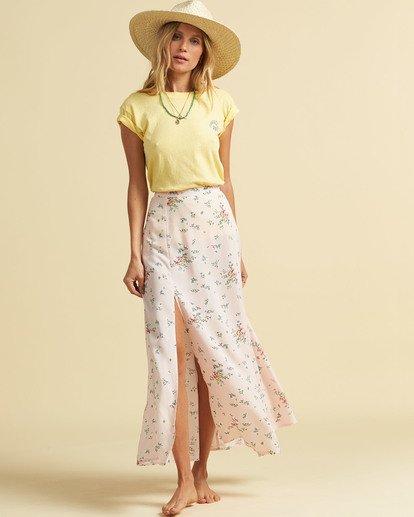 1 Salty Blonde Peachy Keen Maxi Skirt Pink JK163BPE Billabong