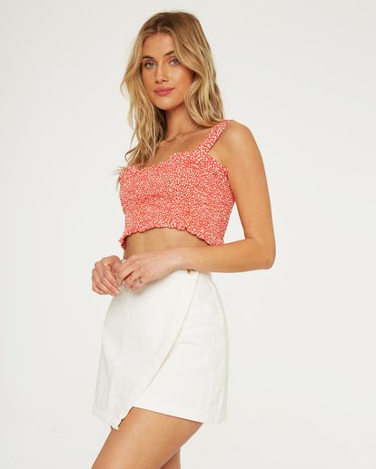 1 Sun Valley Wrap Skirt White JK21TBSU Billabong