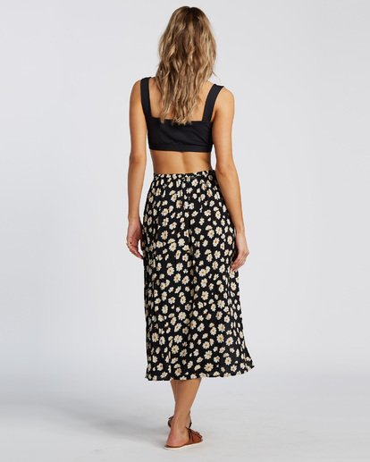 4 By The Water Skirt Black JK21WBBY Billabong