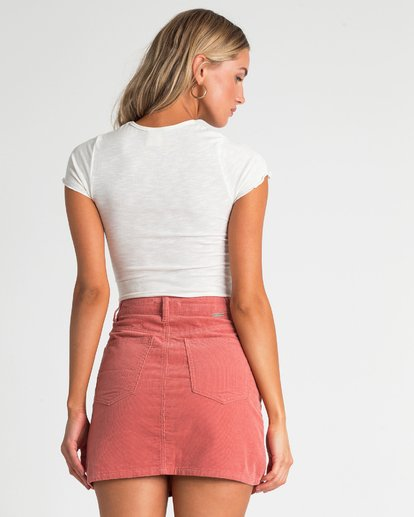 2 Bad Habits Skirt Beige JK23TBBA Billabong