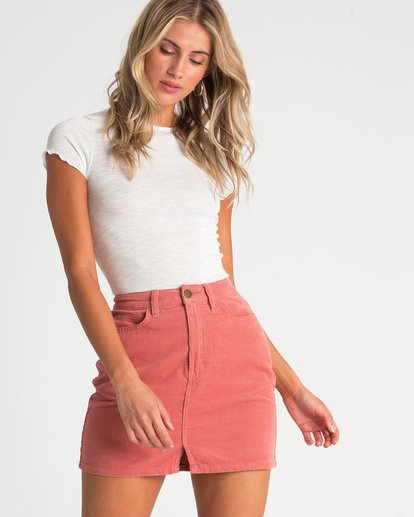 0 Bad Habits Skirt Beige JK23TBBA Billabong
