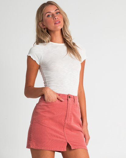 1 Bad Habits Skirt Beige JK23TBBA Billabong