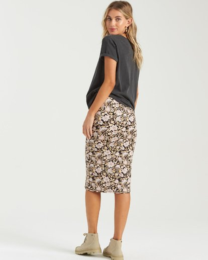 2 Infinate Wishes Skirt Black JK403BIN Billabong