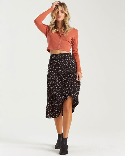 1 Wild And Free Skirt Black JK423BWI Billabong