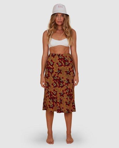 5 Sunbaked Skirt Red JK871BSU Billabong