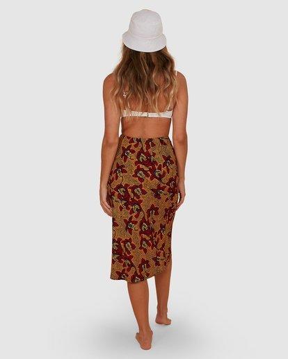 2 Sunbaked Skirt Red JK871BSU Billabong