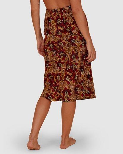 4 Sunbaked Skirt Red JK871BSU Billabong