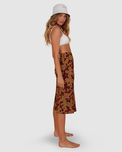 1 Sunbaked Skirt Red JK871BSU Billabong