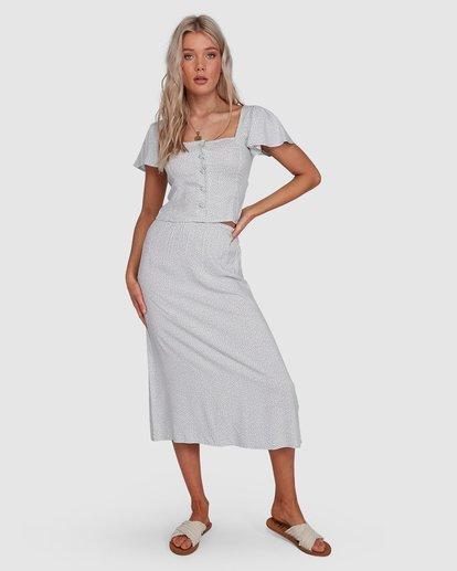 0 Blue Bayou Skirt Blue JK891BBL Billabong
