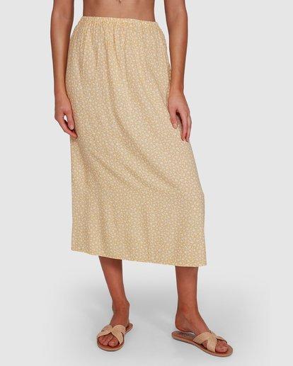 3 Florida Skirt Skirt Yellow JK911BFL Billabong