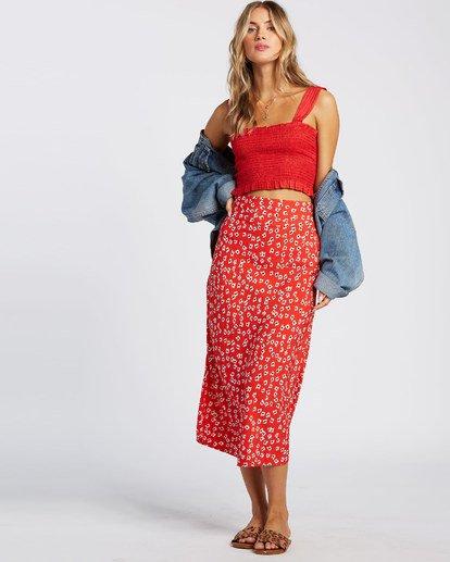 4 Fresh To Free Skirt Red JK931BFR Billabong