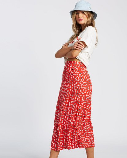 2 Fresh To Free Skirt Red JK931BFR Billabong