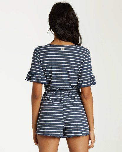 2 Wind Down Romper Blue JN01VBWI Billabong