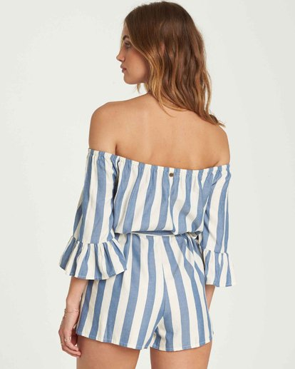 3 Fun For Now Romper Blue JN02QBFU Billabong