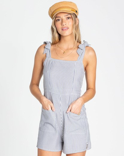 1 Jump Tide Sleeveless Romper Blue JN02TBJU Billabong