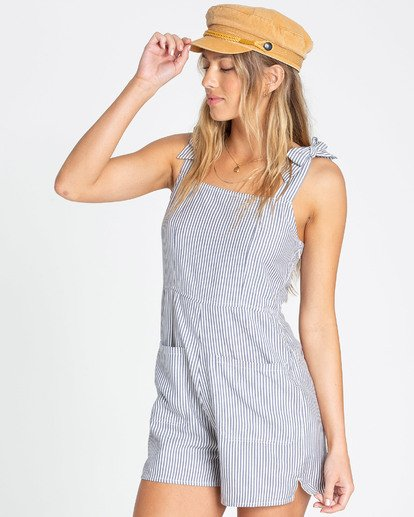 2 Jump Tide Sleeveless Romper Blue JN02TBJU Billabong