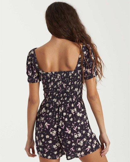 1 Flirty Day Romper Blue JN033BFL Billabong
